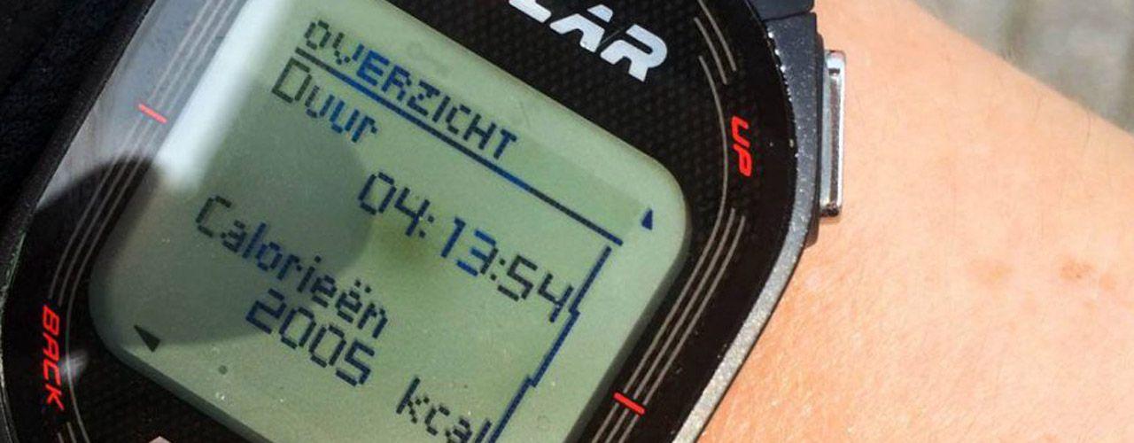 Calorieverbruik wielrennen