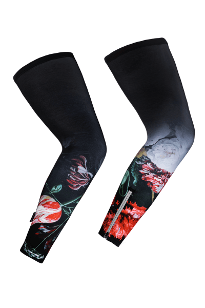 leg-warmers-cycling-flower-print