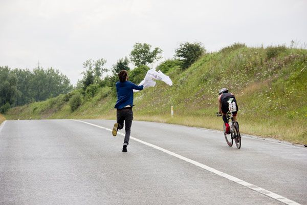 Ironman Maastricht fietsonderdeel