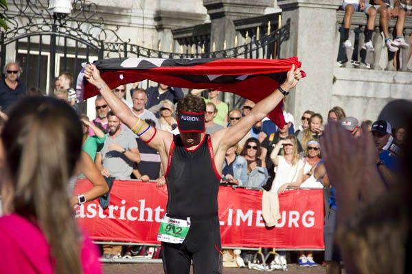 Ironman Maastricht finish