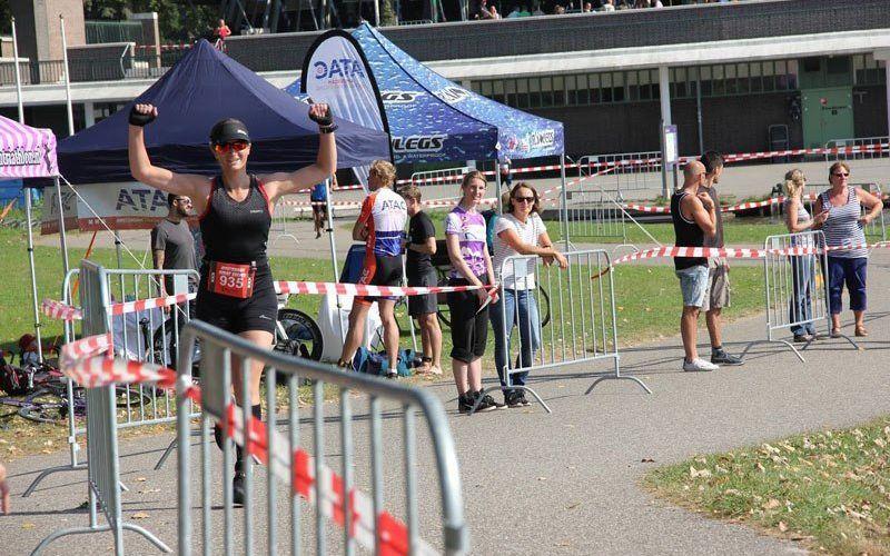 eerste triatlon hardlopen