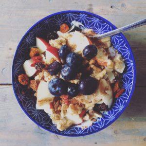 ontbijt wielrennen