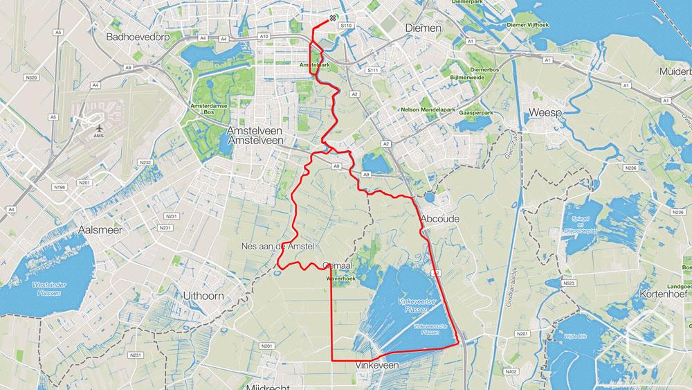 ingeklikt-wielrennen-routes-amsterdam-vinkeveense-plassen