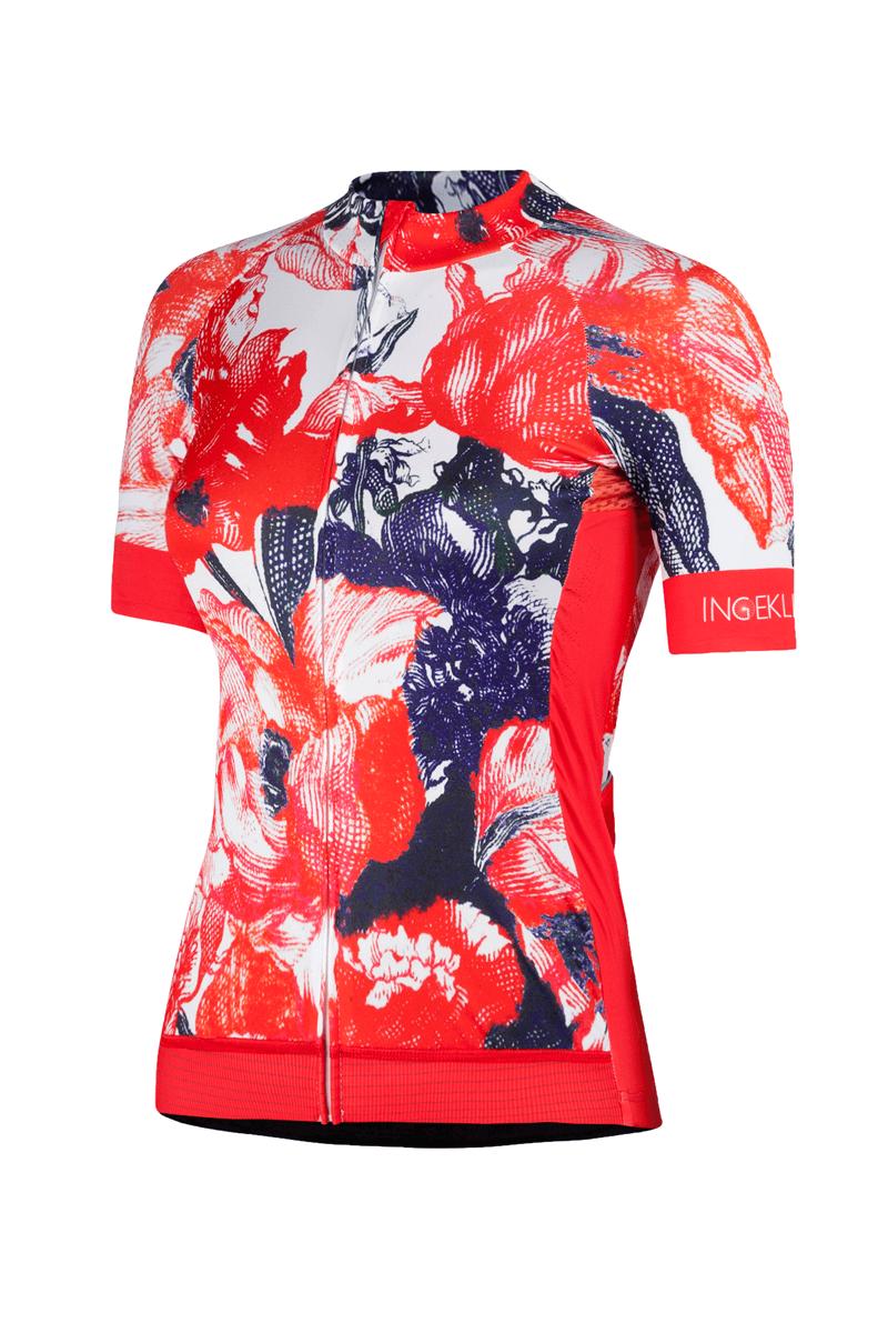 Dames_fietsshirt_bloemen_Tulipa_Ingeklikt.com_voorzijde