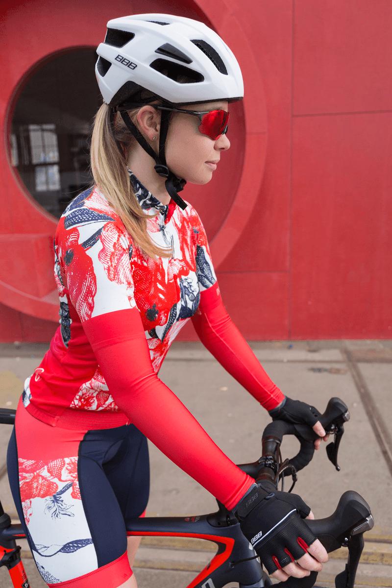 fietsshirt-dames-bloemen-ingeklikt