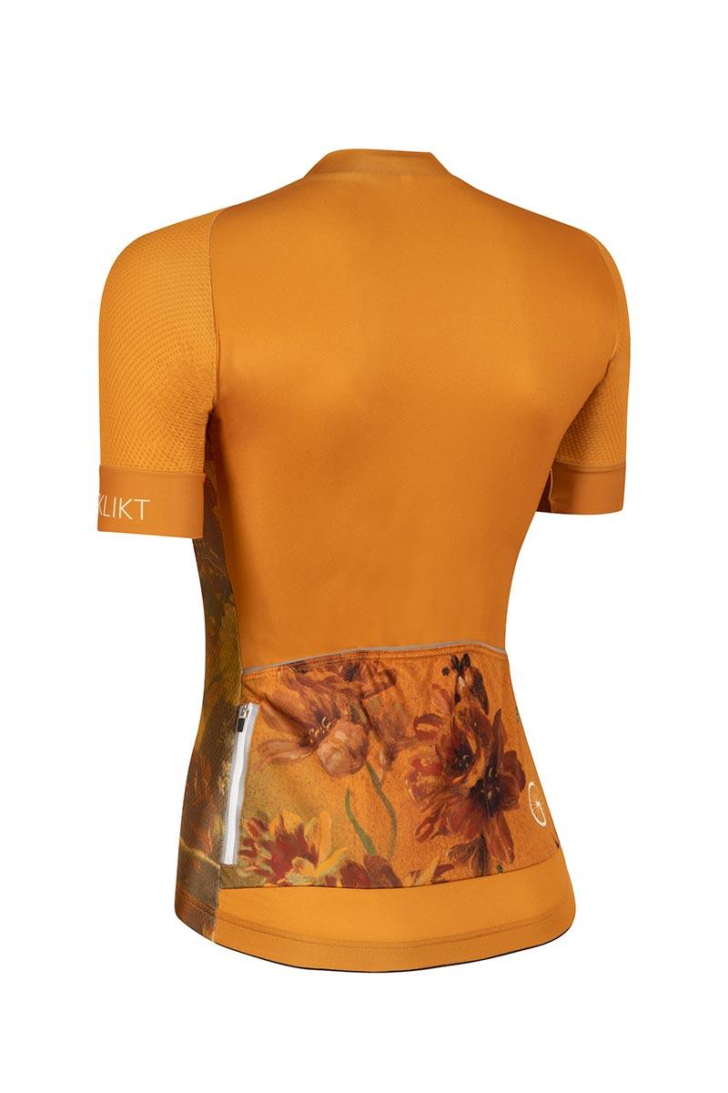 dames-fietsshirt-oker-geel-golden_hour-achterzijde