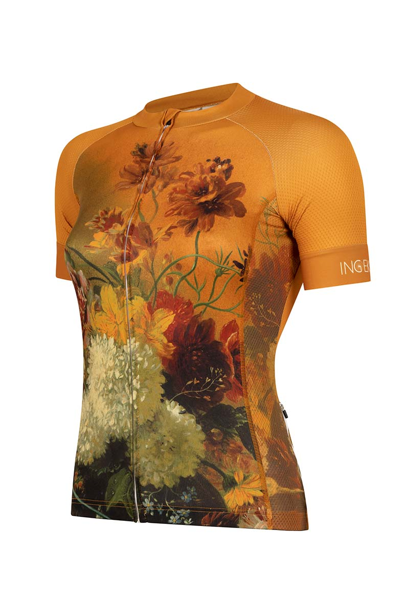 womens-cycling-jersey-ochre-yellow