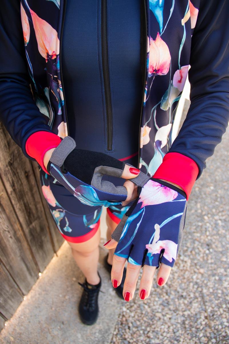 fietshandschoentjes-dames-bloemen