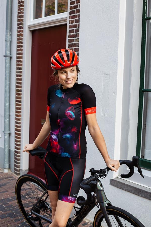 fietsshirt-dames-kwallenprint