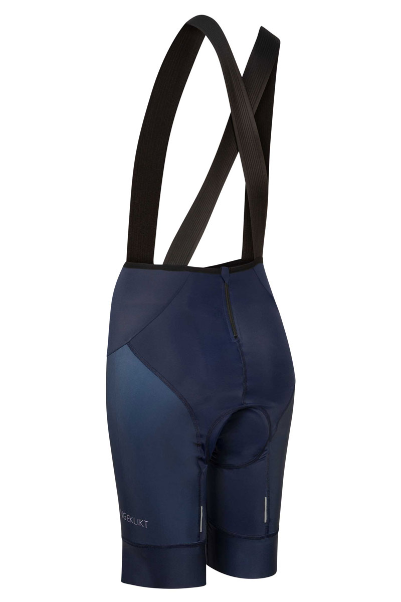 navy bibshorts for women with ziper