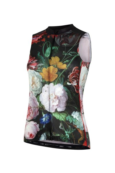 Mouwloos dames fietsshirt Flower Bomb