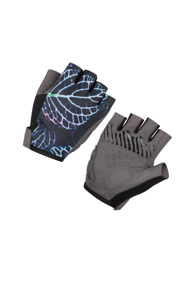 wielerhandschoenen-dames-zwart-print